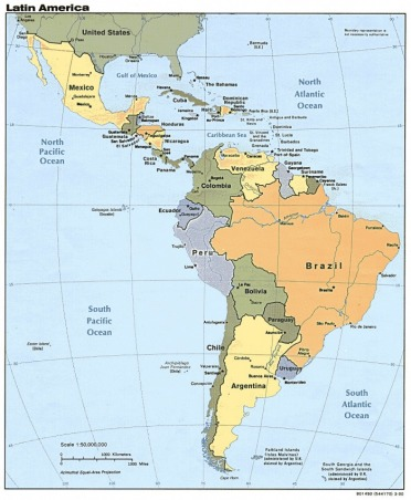 South America - Give Me The World